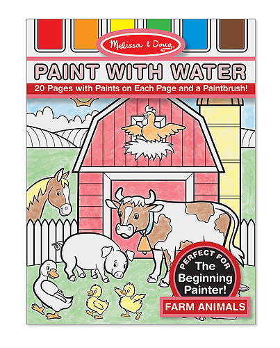 MD14165 Melissa and Doug Paint with Water - Farm Animals 001