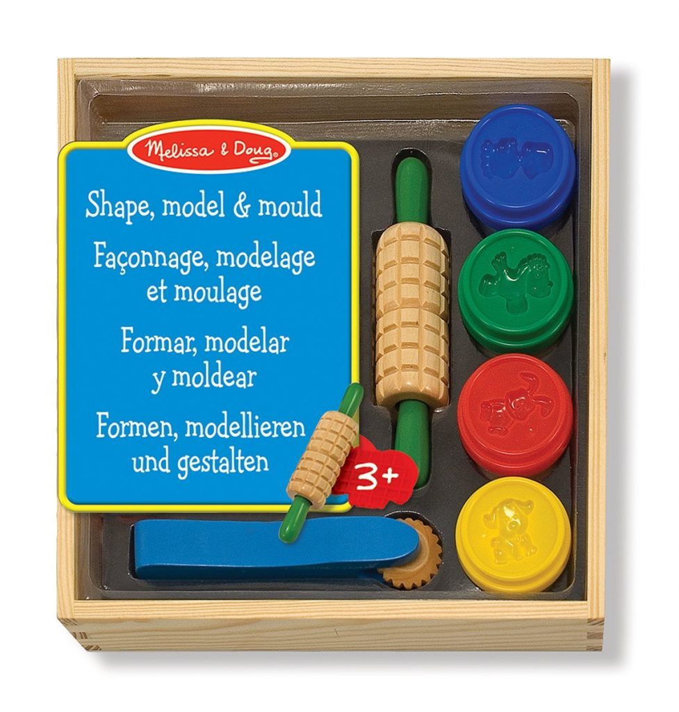 Melissa & Doug Shape Model & Mould Playdough Set
