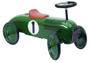 14167 Green Classic Metal Rideon Car Goki 001