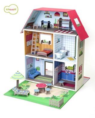 K-304  Murielle City Dolls House Playset by Krooom 005