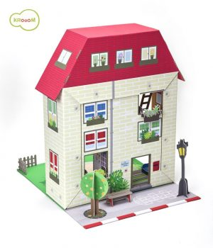 Murielle City Dolls House Playset by Krooom