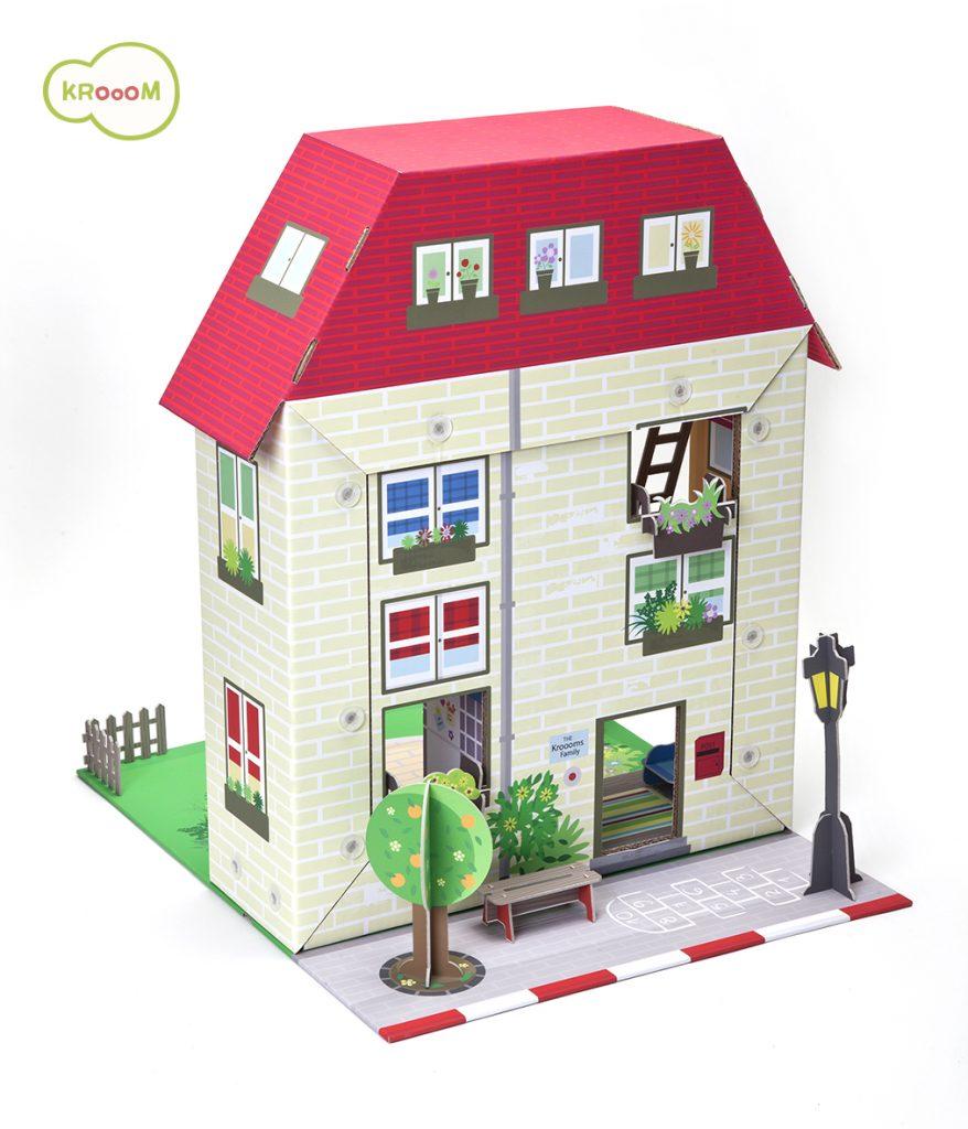K-304  Murielle City Dolls House Playset by Krooom 002