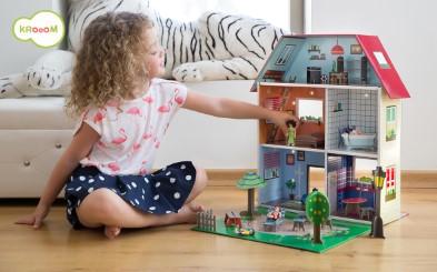 K-304  Murielle City Dolls House Playset by Krooom 003