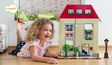K-304  Murielle City Dolls House Playset by Krooom 006