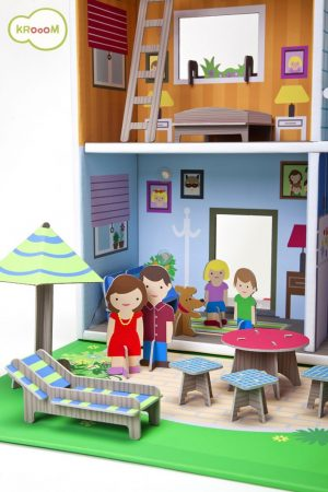 K-304  Murielle City Dolls House Playset by Krooom 001