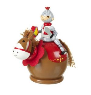RY1228 Orange Tree Toys Knight Money Box  001