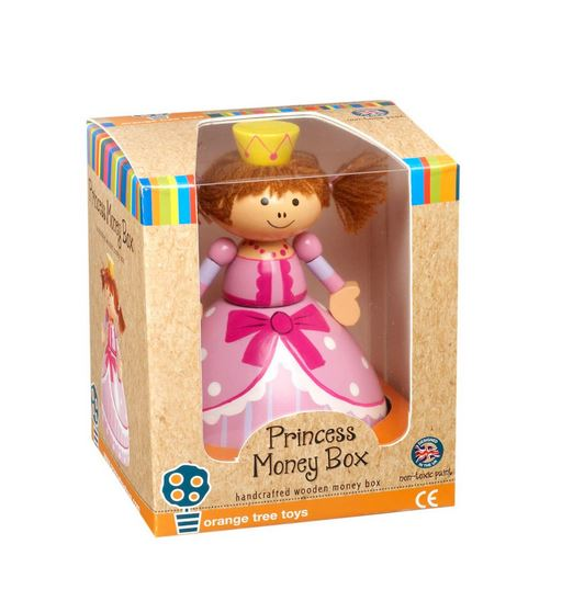 RY1236 Orange Tree Toys Princess Money Box  002