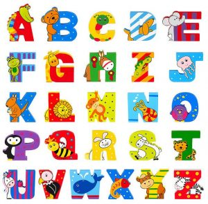 448 Orange Tree Toys Painted Wooden Letters 001