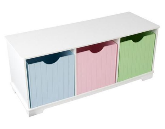 ZZ14565 KidKraft Nantucket Storage Bench 002