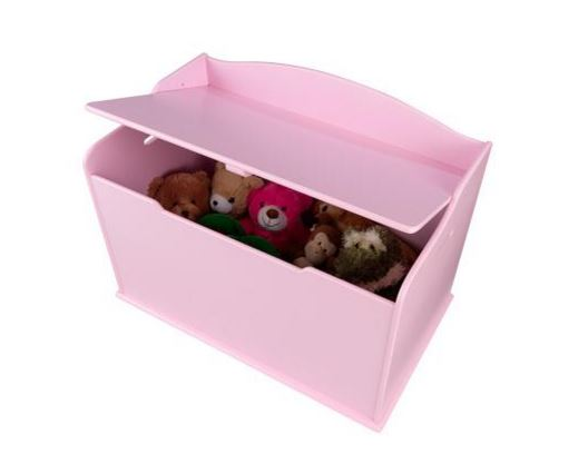 ZZ14957 KIdKraft Pink Toy Box 002