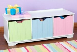 ZZ14565 KidKraft Nantucket Storage Bench 001