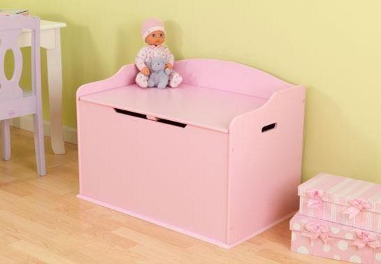 ZZ14957 KIdKraft Pink Toy Box 001