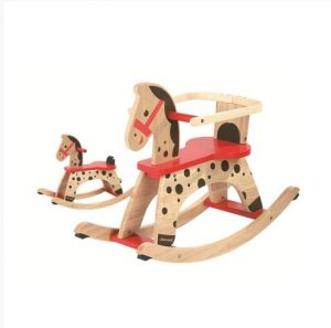 Janod Caramel Wooden Rocking Horse