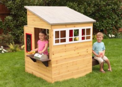ZZKK-00182  KidKraft Modern Outdoor Wooden Playhouse 008