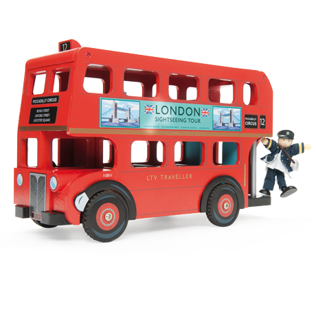 TV469 London Bus with Driver by Le Toy Van 001