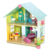 Evergreen Doll's House With Furniture by Le Toy Van 001