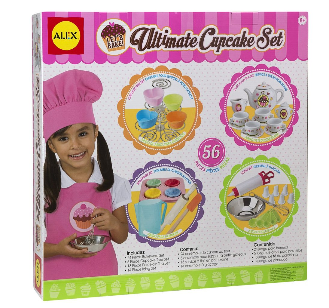 604B Let's Bake Ultimate Cupcake Set by Alex 002