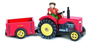 Le Toy Van Berties Tractor wooden toy