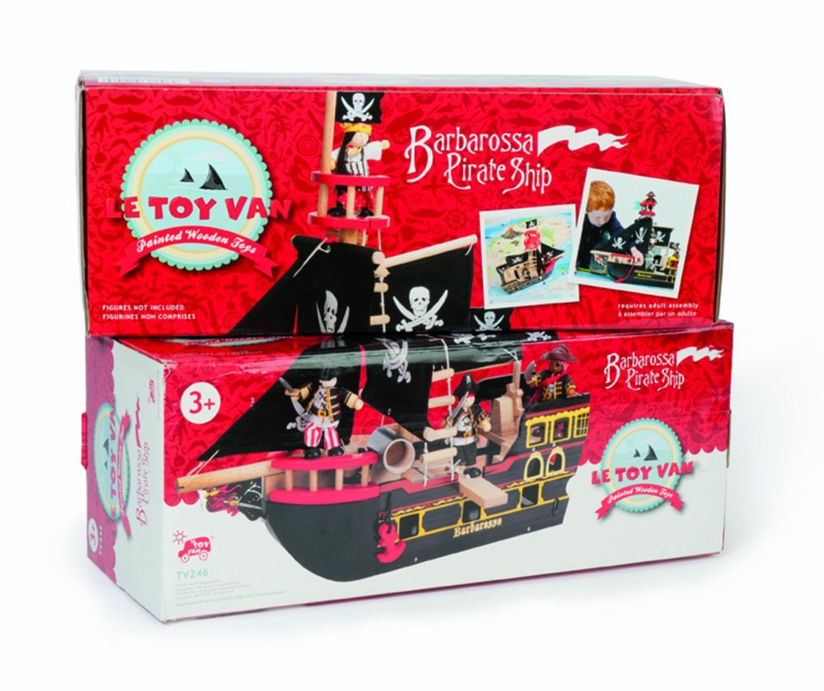 TV246 Barbarossa Pirate Ship by Le Toy Van 004