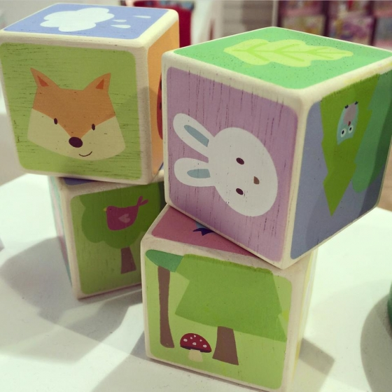 PL007 Little Leaf Wooden Blocks by Le Toy Van 002