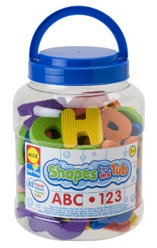 Shapes For The Tub ABC & 123 by Alex Brands