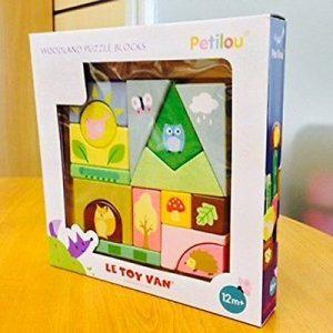 Woodland Puzzle Blocks by Le Toy Van
