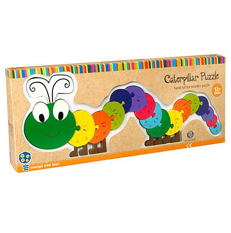 RY1655 Orange Tree Toys Caterpillar Alphabet Puzzle 003