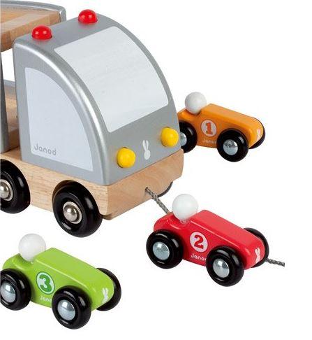 J05603 Janod Multi Cars Truck 001