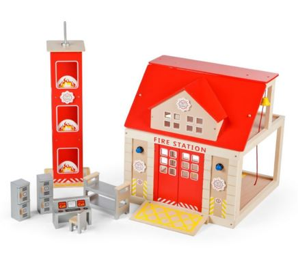 T-0116 Tidlo Fire Station Set with Training Tower  001