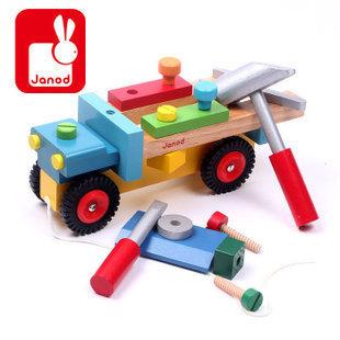 J05022 Janod Brico Kids DIY Truck  003