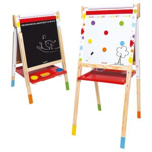 Janod Splash Height Adjustable Easel