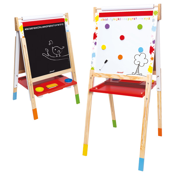 J09611 Janod Height Adjustable Easel 001