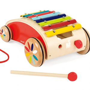 Janod Xylophone Pull Along Roller