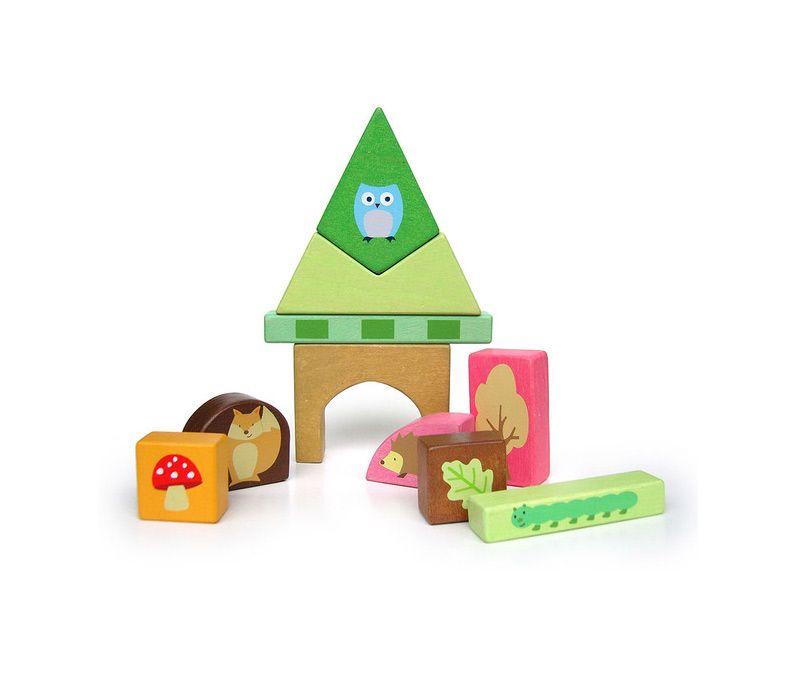 PL002 Woodland Puzzle Blocks by Le Toy Van 004