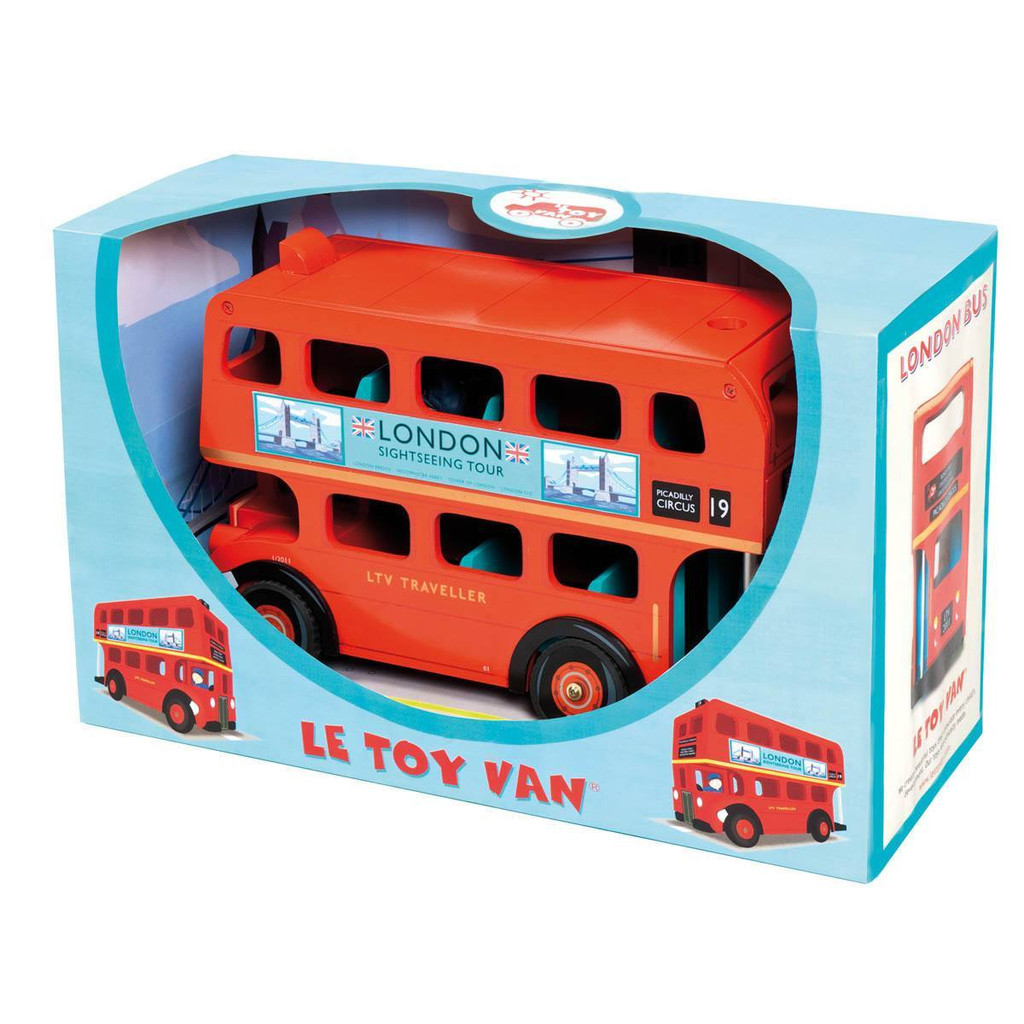 TV469 London Bus with Driver by Le Toy Van 008