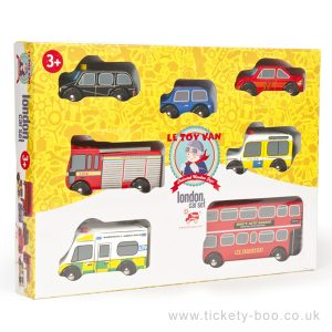 London Car Set by Le Toy Van