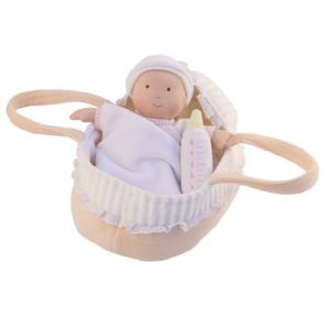 BON82 Bonikka Baby Doll with Carry Cot & Blanket  001
