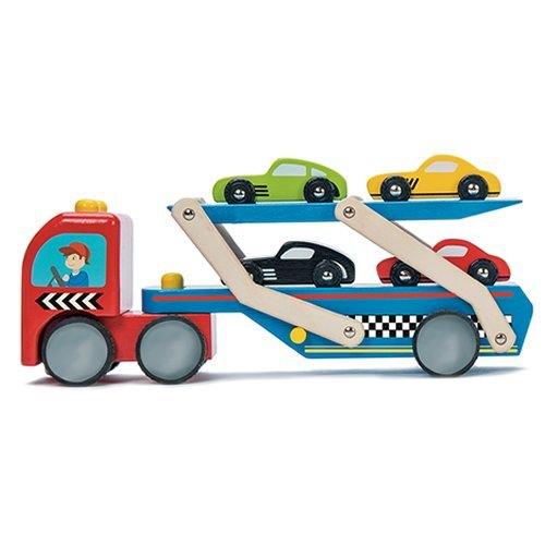 TV444 Le Toy Van Race Car Transporter Set  007