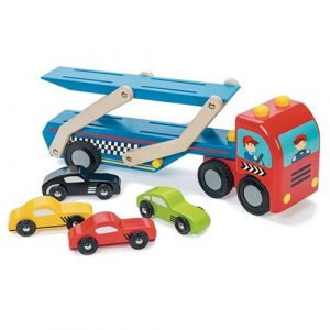 TV444 Le Toy Van Race Car Transporter Set  006