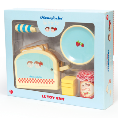 TV287 Toaster Set by Le Toy Van 002