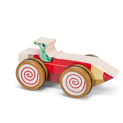 PL037 Woodland Race Car by Le Toy Van 008