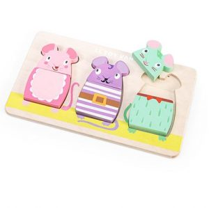 PL029 Le Toy Van Wooden Mouse Puzzle 001