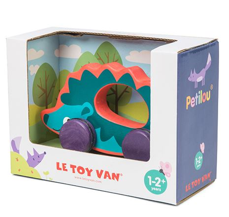 PL036 Le Toy Van Hedgehog on Wheels 001