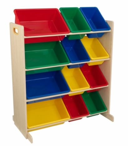 KidZZKK16774 KidKraft Sort it & Store it Bin Unit 002