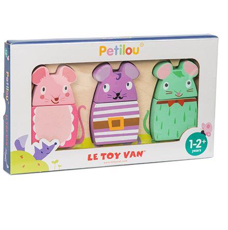 PL029 Le Toy Van Wooden Mouse Puzzle 004