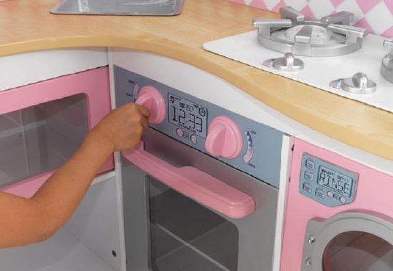 ZZKK53185 KidKraft Grand Gourmet Corner Kitchen 004