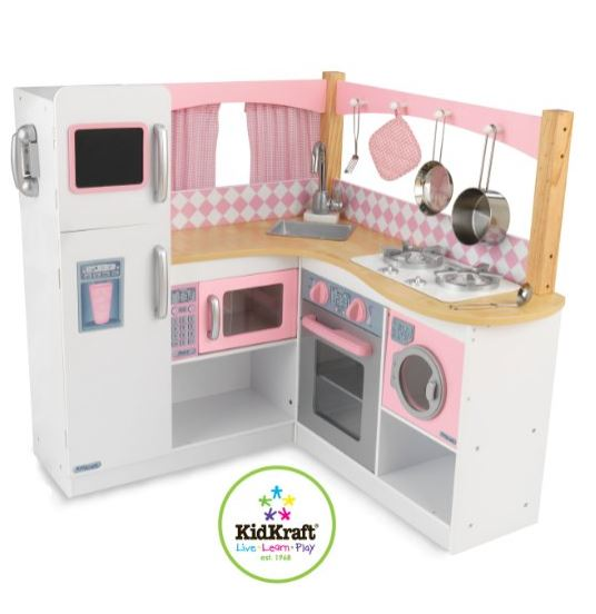 ZZKK53185 KidKraft Grand Gourmet Corner Kitchen 006