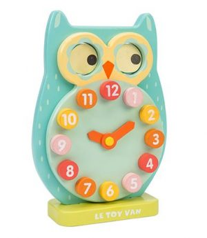 PL010 Blink Owl Clock 003