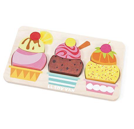 PL028 Le Toy Van Cherry Sundae Puzzle 003