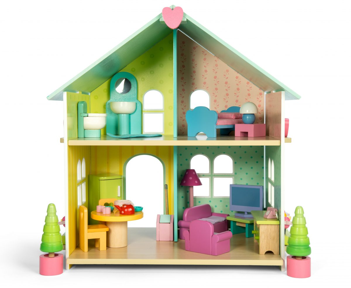 H171 Evergreen Doll's House With Furniture by Le Toy Van 003